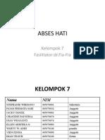 ABSES HATI KELOMPO 7