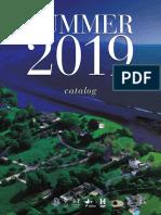 Adult Summer 2019 Catalog