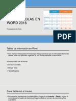 Uso de Tablas en Word 2016edmodo5