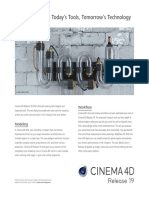 Cinema 4D New in R19 Flyer en Online Usage