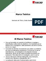 Marco Teorico tesis UTC