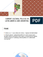2019ABR - Current Cultural Policies in Latin-America
