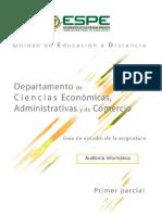 Auditoría informática 2019