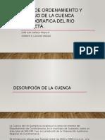 Diagnostico, Prospectiva y Formulacion de La Cuenca