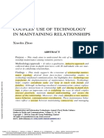 Couples' use of Communication and Information Technologies