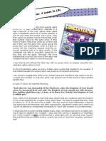 Newsletter December 2008 - Concentration