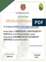 Diploma Egurino