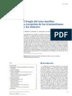 Cirugía Del Seno Maxilar, A Excepción de Los Traumatismos y Los Tumores
