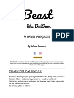 Beastlikebalsam - Fat loss