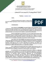 10. R.D. N° 010 Aprobación de la Nómina Oficial 2019