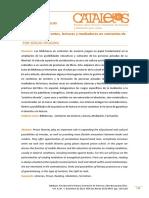 Bibliotecas Itinerantes, Lecturas y Mediadores en Contextos de Encierro