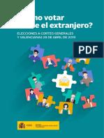 2019 Abril Preguntas Elecciones