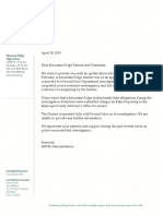 MRHS Parent Letter 4-18-19