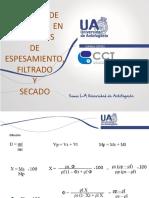 Ejercicio Espesamiento, Filtrado y Secado 2019