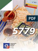 Agenda Judía5779 ONLINE