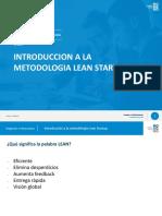 1. Introducción a Lean Startup