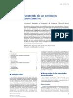 Anatomía de Las Cavidades Nasosinusales