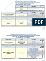 PUB Meknès Fonct 2019