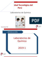 Presentación Normas Laboratorio de Química