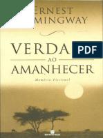 Verdade Ao Amanhecer - Ernest Hemingway.pdf