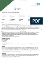 Glasbau - Module Description BV420004