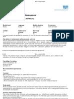Grundlagen Der Nachhaltigkeit - Module Description BGU36006