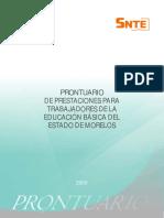 Prontuario de Prestaciones Laborales 2009