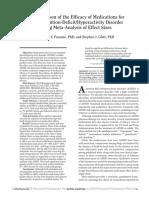 ADD ADHD Metanalysis Treatments JCP2010