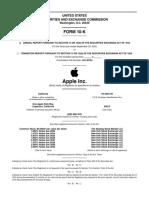 Estado Financiero Apple
