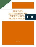 Administracion 1er Parcial Resumen Propio