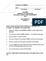 National Grade 4 Assessment - 2012 - Mathematics P2
