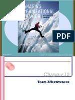 Chap010 Team Effectiveness Mod