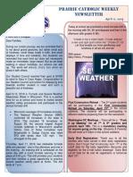 Newsletter 4 11 19