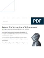 Lesson_ the Breastplate of Righteousness