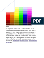 Graduacion de Colores