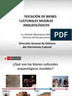Arqueólogico-Identificación