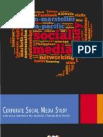BMAP Corporate Social Media Study 2010