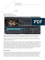 Soundonsound.com-Toontrack Superior Drummer 3