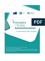 The Principles of Public Administration