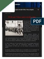 El Día Que Velasco Quiso Invadir Chile