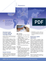 Eurofins Forensics Flyer