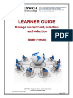 Learner Guide - Manage Recruitment, Select and Induct Process BSBHRM506.pdf
