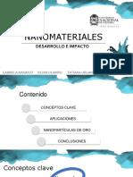 nano materiales