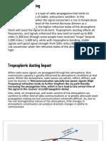 Tropospheric Ducting vs Radio Network