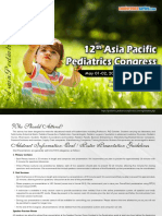 Asian Pediatrics 2019 38459 Tentative Program37284