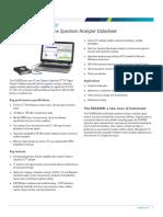 RSA306B USB Real Time Spectrum Analyzer Datasheet 37W603759