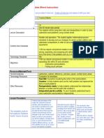 wordprobslessondirect instruction