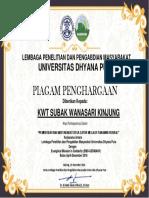 sertifikat catur