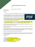 Formato de Carta de Presentacion de La Oferta