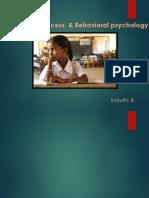 Edification Process & Behavioral Psychology